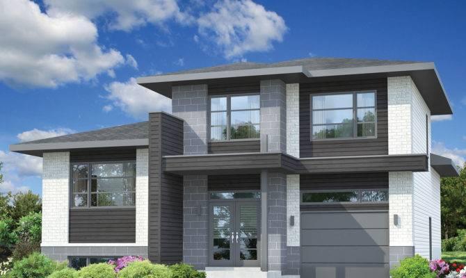 Split Level Contemporary House Plan