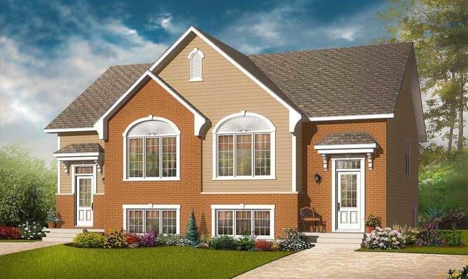 Split Level Duplex Architectural Designs