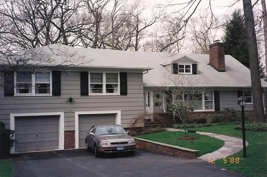 Split Level Home Addition Before After