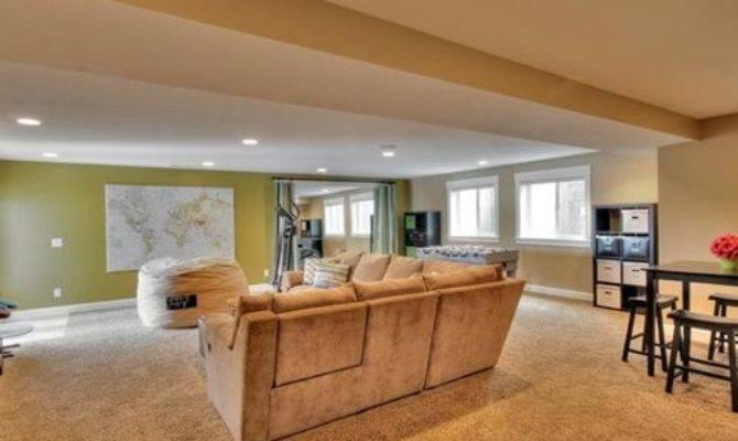 Split Level Home Basement Ideas Photos Houzz