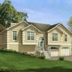 Split Level House Plans Garage