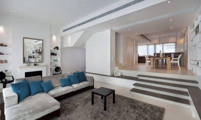 Split Level Living Room Design Peenmedia