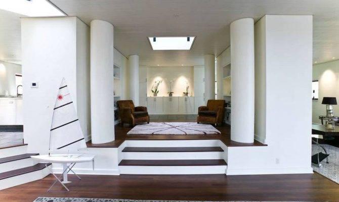 Split Level Living Room Ideas Peenmedia