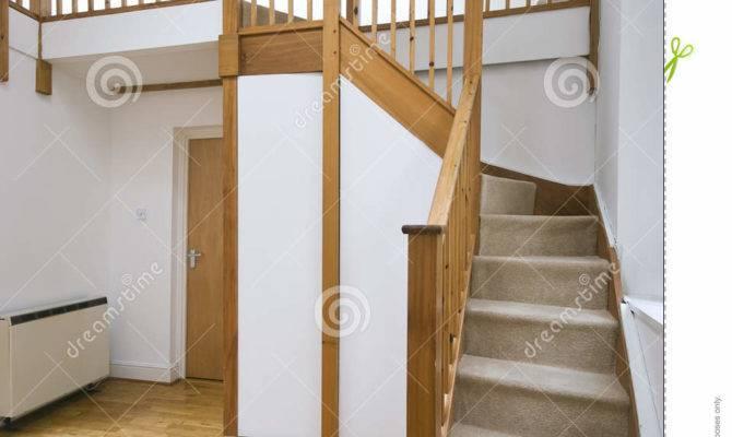 Split Level Living Room Staircase