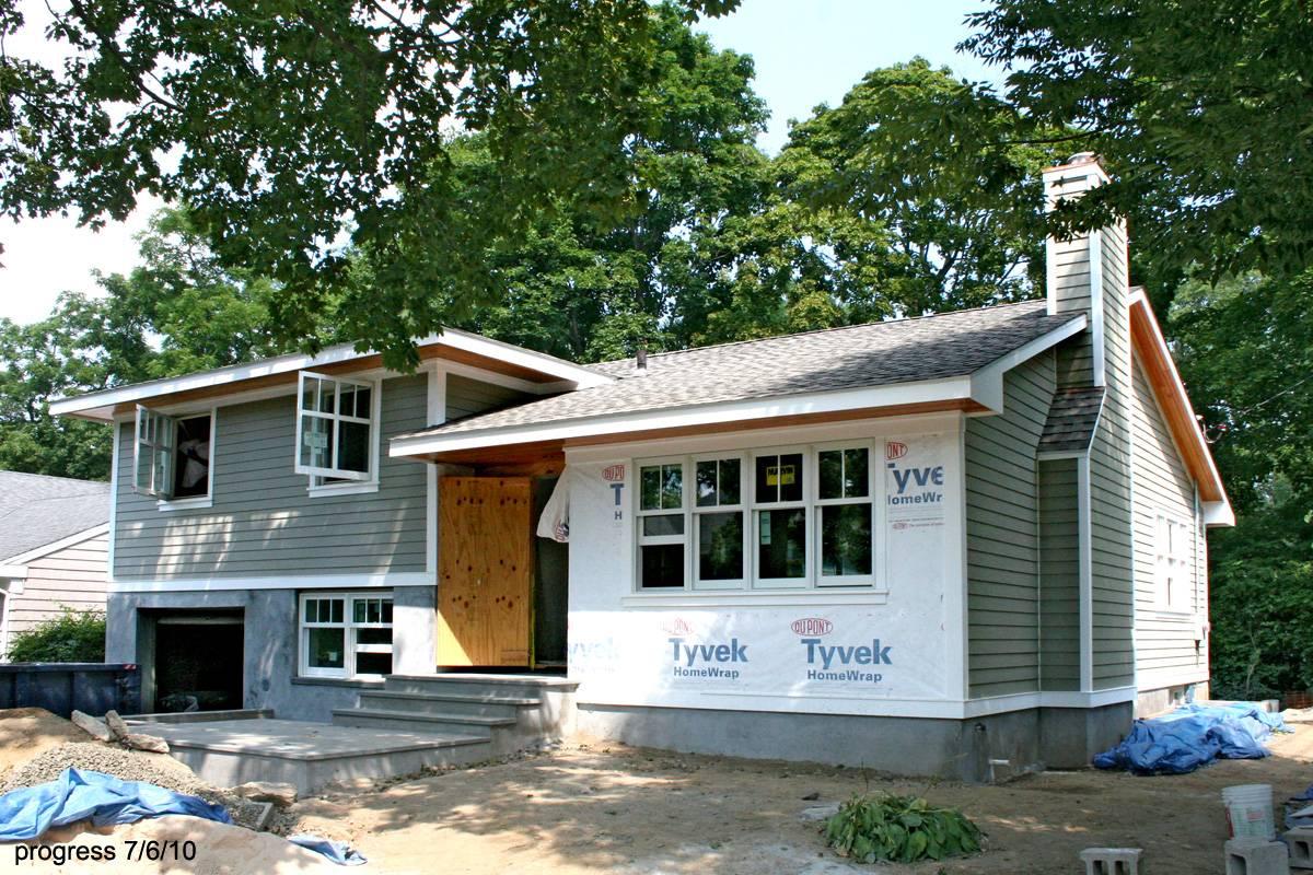 Split Level Modern House Plans 36865