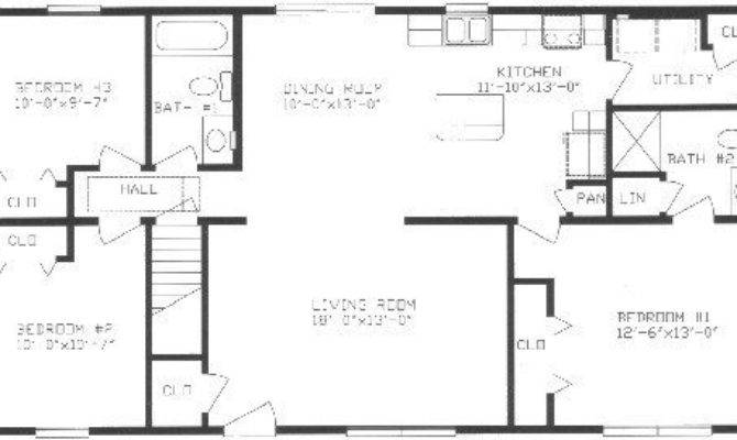 Split Ranch House Plans Lovely Floor
