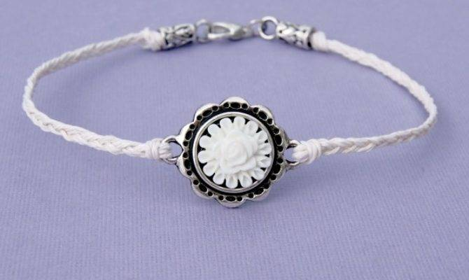 Spring Bling Week Woven Ankle Bracelet Happy Hour Projects