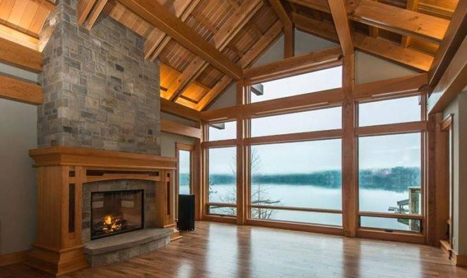 Sproat Lake Timber Frame Home Pickles Frames