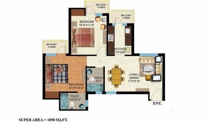 Sqft Bhk House Plan Toilets Latest Home Designs