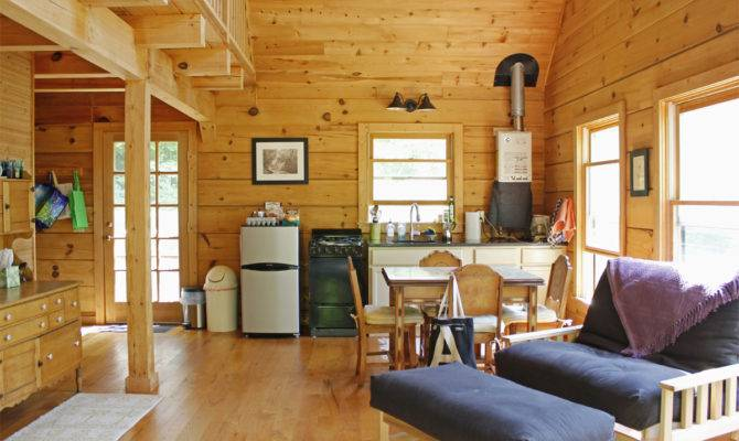 Sqft Cabin Woods Intentionally Small