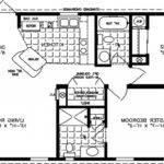 Square Feet Bedroom Apartment Modern House Plan