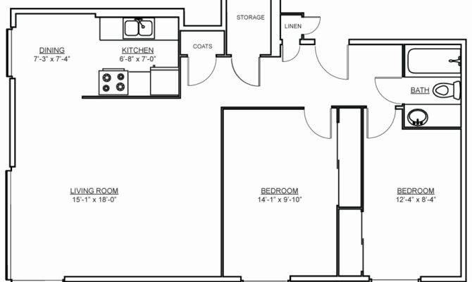 Square Feet Bedroom Apartment Savae