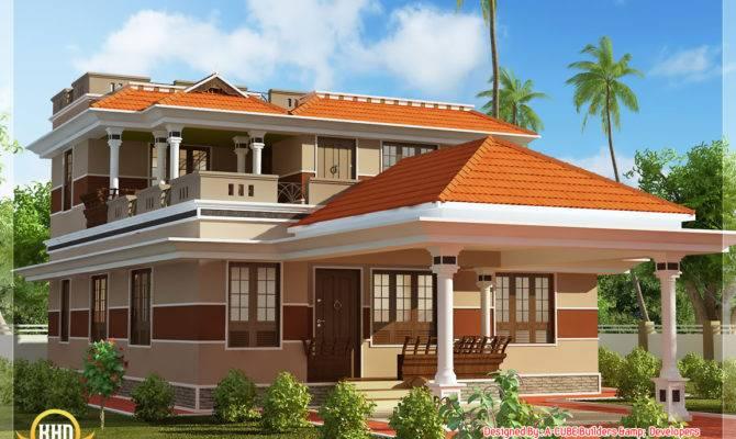Square Feet Bhk Kerala Style Home Design