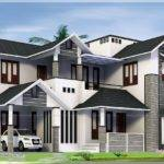Square Feet Feel Big House Exterior Kerala Home Design