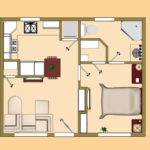 Square Feet Floor Plan Small House