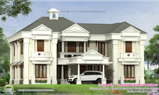 Square Feet Home Exterior Kerala Plans