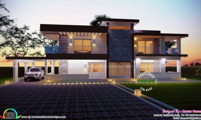 Square Feet House Plan Elevation Kerala Home