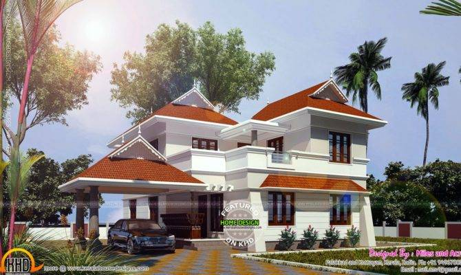 Square Feet House Plan Kerala Home Design Floor