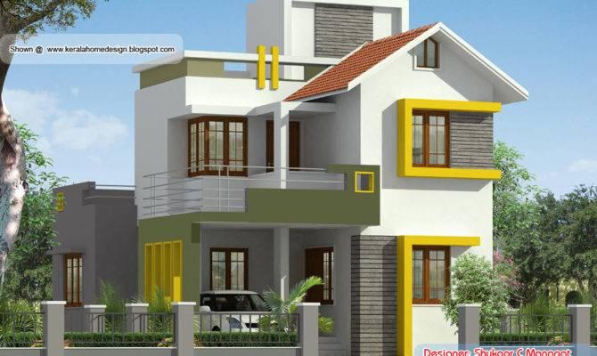 Square Feet Kerala Style Villa Plan Home Design Floor