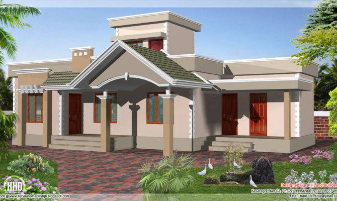 Square Feet One Floor Budget House Kerala Home