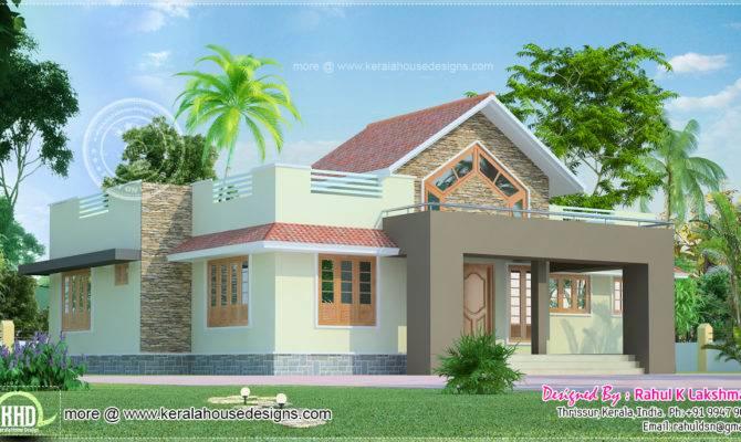 Square Feet One Floor House Kerala Home Design