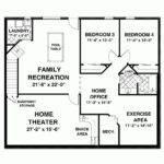 Square Feet Open Floor Plans Home Deco