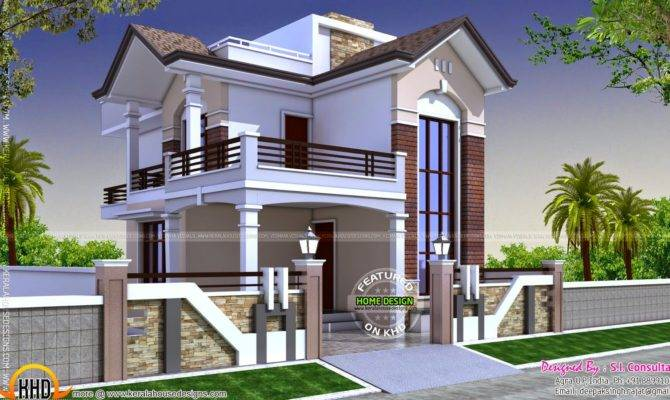 Square Feet Small Double Storied House