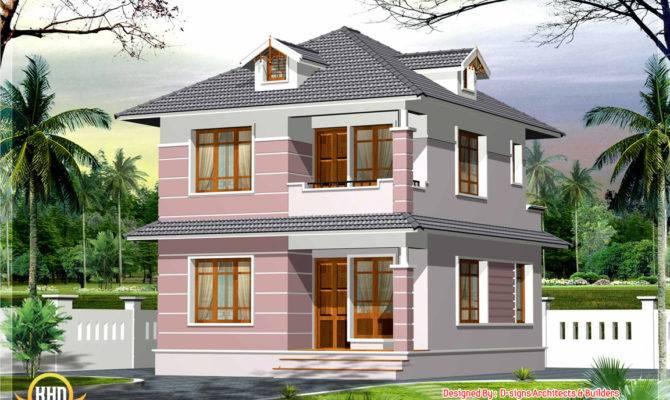 Square Feet Small Home Design Kerala Floor
