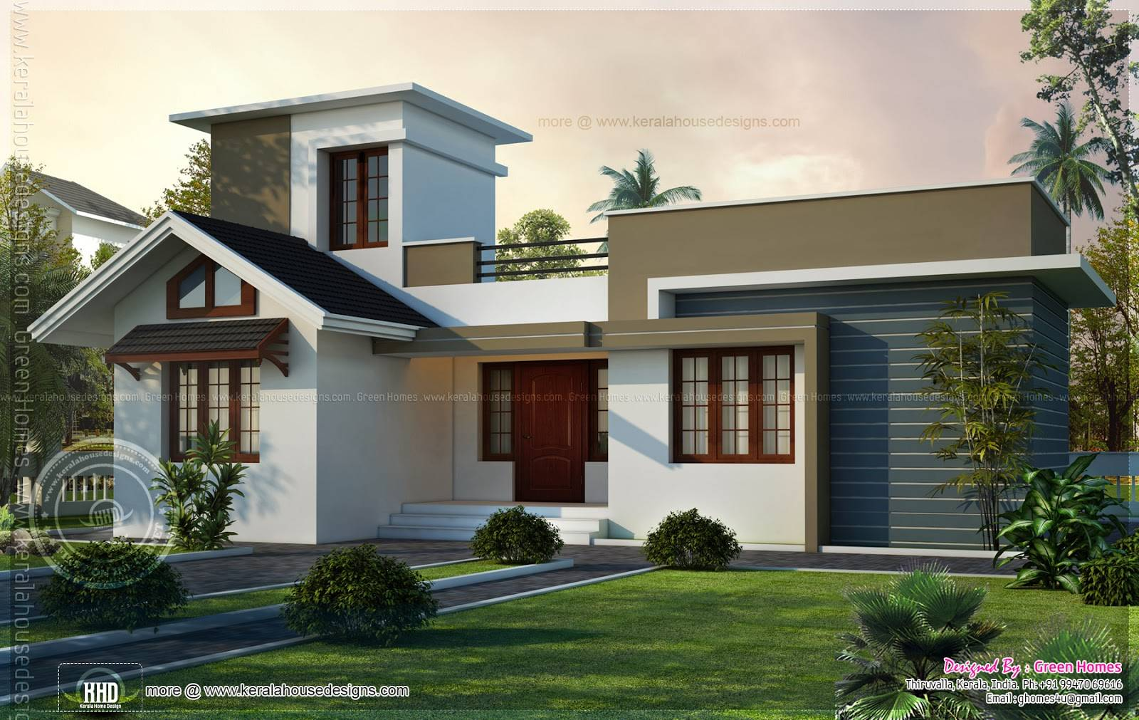 Square Feet Small House Design Kerala Home House Plans 106923