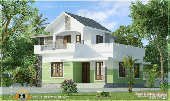 Square Feet Small House Elevation Indian Plans