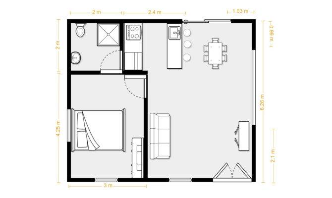 Square Foot Apartment Layout House Design Plans