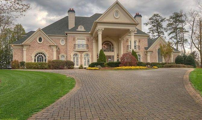 Square Foot Brick Mansion Atlanta Homes