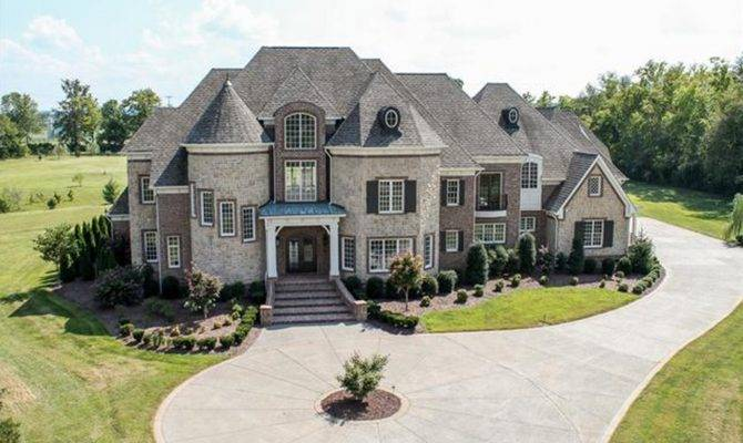 Square Foot Brick Mansion Brentwood Homes