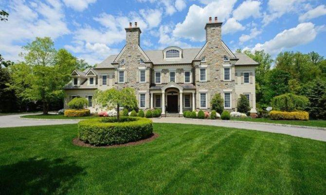 Square Foot Colonial Mansion Rye Homes