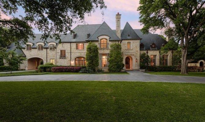 Square Foot English Manor Style Mansion Dallas