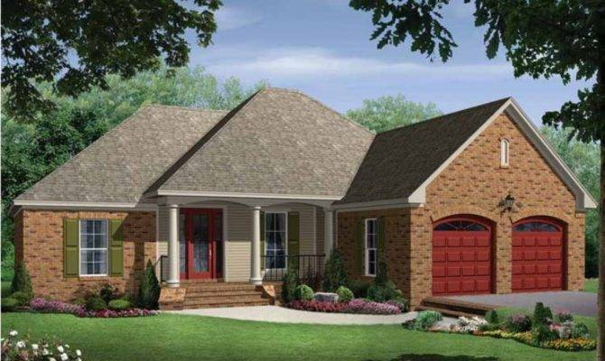 Square Foot House Eplans Bungalow Plan