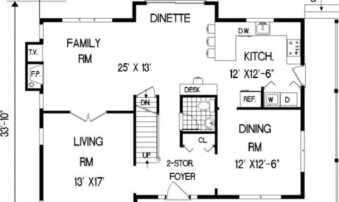 Square Foot Open Floor Plans