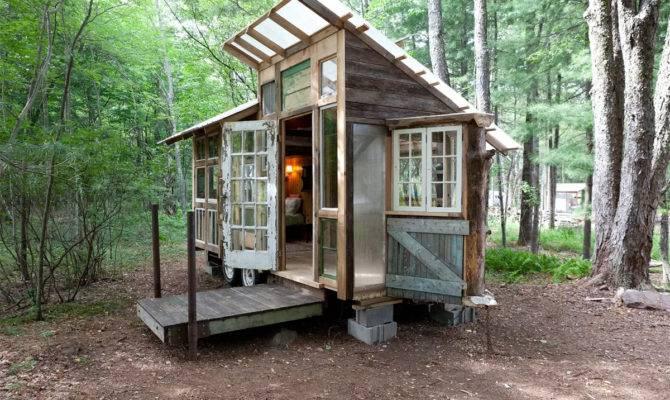 Square Foot Tiny House Catskills Fits Three