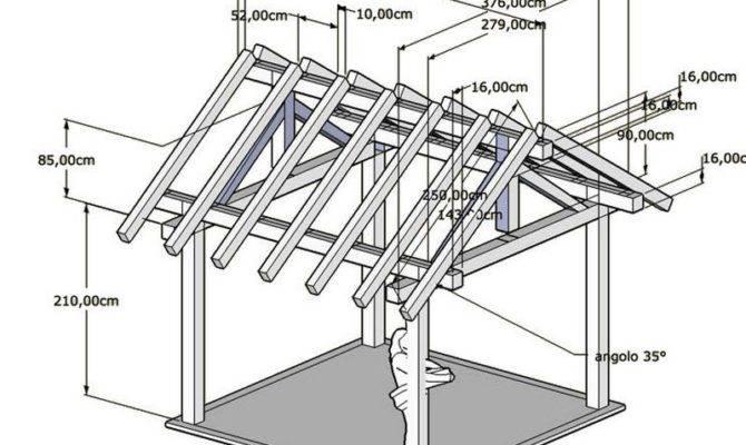 Square Gazebo Building Plans Pergola Design Ideas