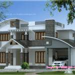 Square Meter Contemporary Mix House Exterior Indian Plans