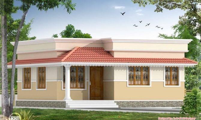 Square Yards Kerala Style Small Bedroom Villa Design Draft