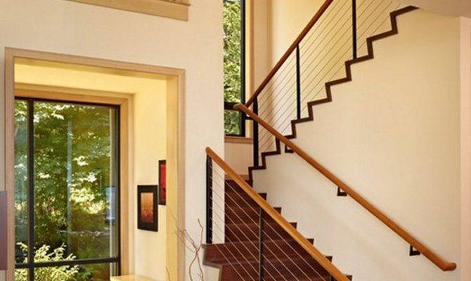 Stair Railing Ideas Improve Home Design