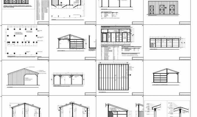 Stall Horse Barn Floor Plans House Plans 126426