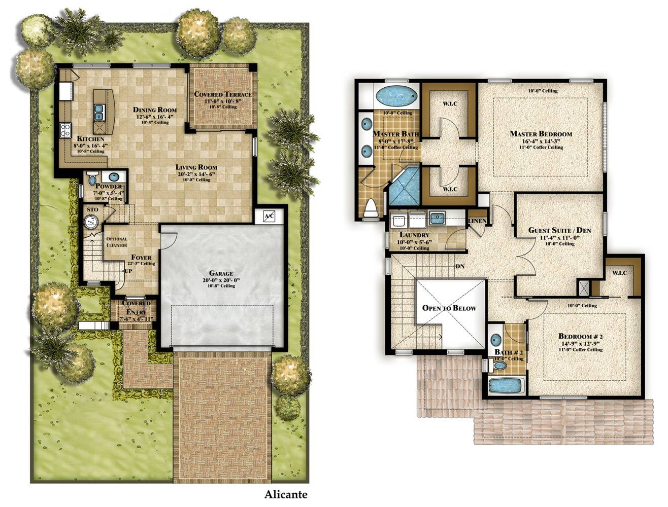 Standard Height Two Story House Best Interior Decorating Ideas House Plans 36685