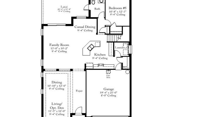 Standard Pacific Floorplans