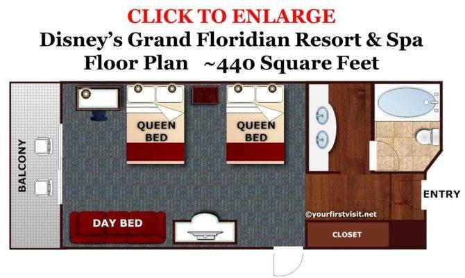 Standard Rooms Disney Grand Floridian Resort Sized