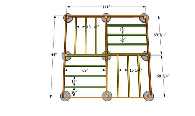 Standing Deck Plans Pdf Cube Wine Rack
