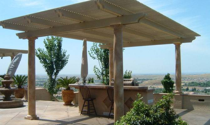 Standing Patio Cover Gable