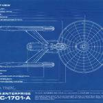 Star Trek Blueprint Collection Portfolio Set Authorized