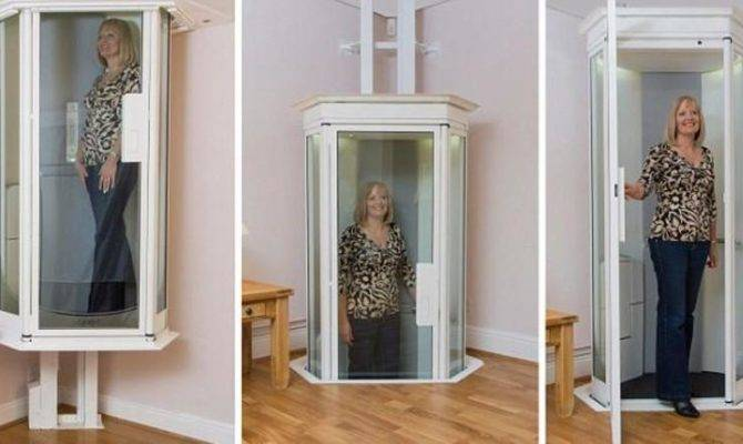 Star Trek Style Home Elevator Could Replace Stairlifts